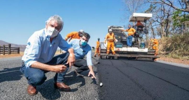 Caiado lança o maior programa de recuperação das principais avenidas e ruas de 100 cidades