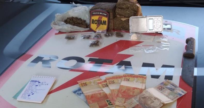 Em quatro dias, Polícia Militar apreende mais de 1,6 tonelada de drogas em Goiás