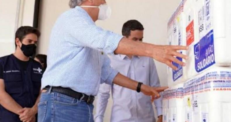 Goiás recebe 100 mil doses da CoronaVac e 50.100 da Janssen, nesta quinta-feira (24/06)