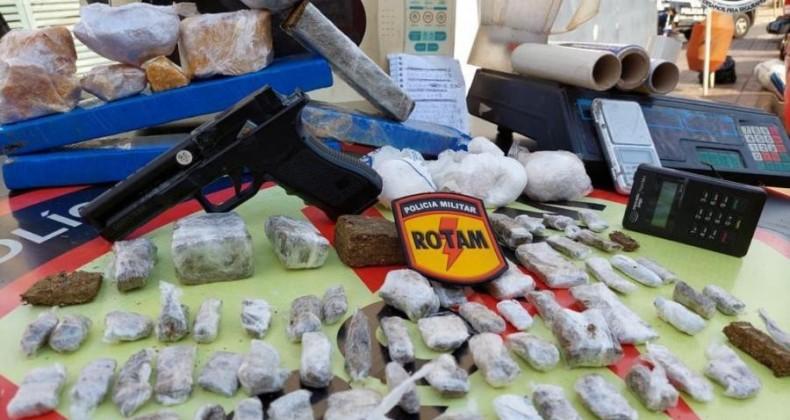 Polícia Militar apreende quase 200 kg de drogas nos últimos dias