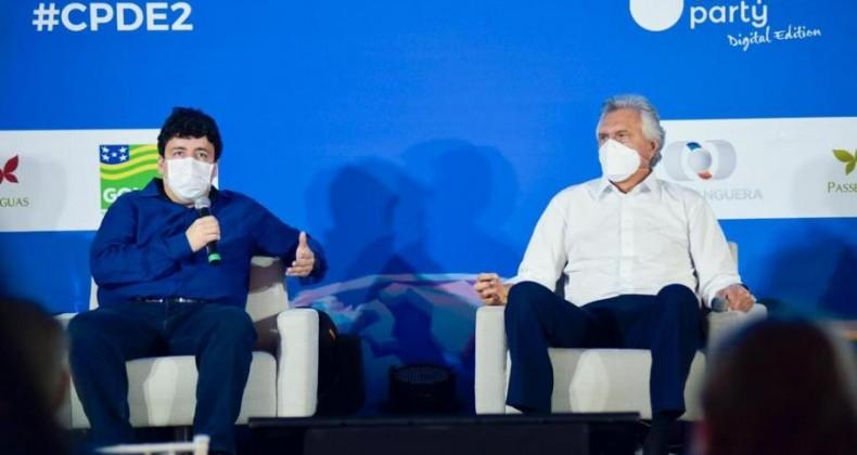 Caiado participa de abertura da 3ª edição da Campus Party e destaca avanços da gestão esta