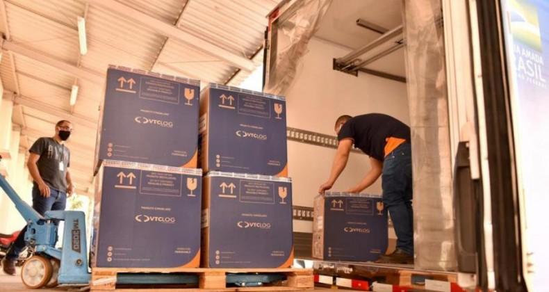 Goiás recebe mais 87.750 vacinas contra Covid-19
