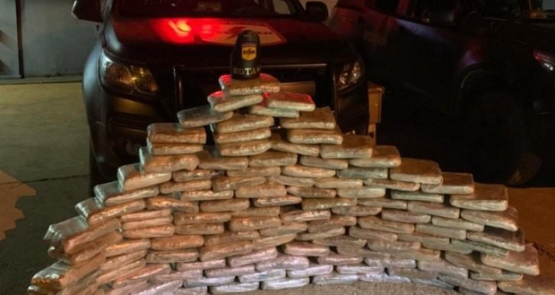 PMGO apreende mais de 320 kg de drogas e realiza ao menos 31 prisões no Estado