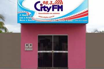 Estúdio Rádio City FM 98,3